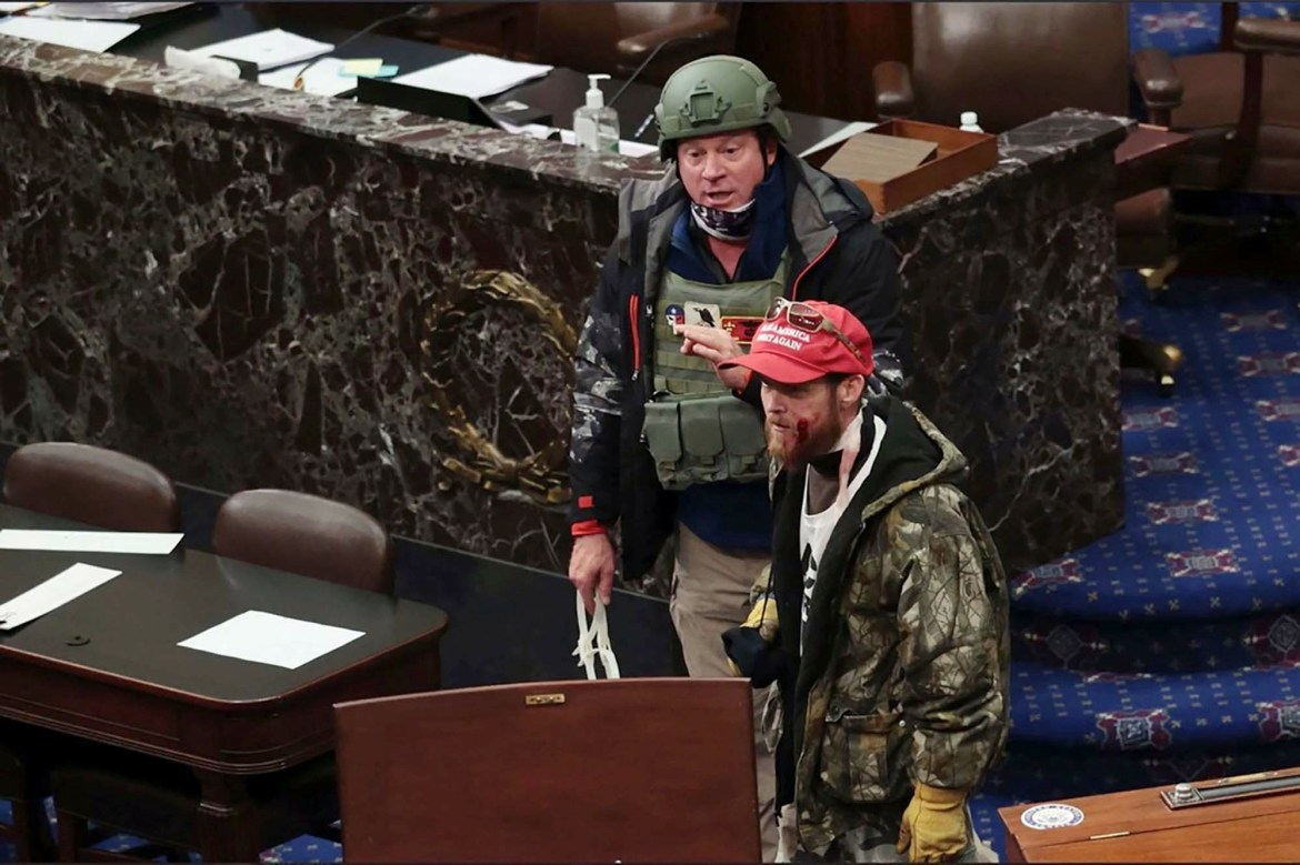 Air Force vet identified as rioter with zip ties during Capitol siege 1