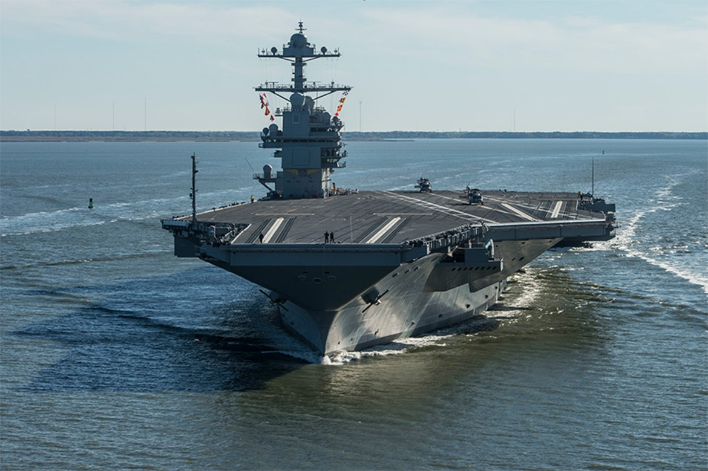 Navy's $13.2 billion aircraft carrier still experiencing problems 1