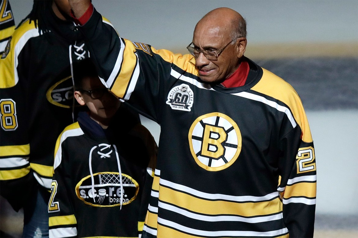Bruins to retire number of NHL pioneer Willie O'Ree 1