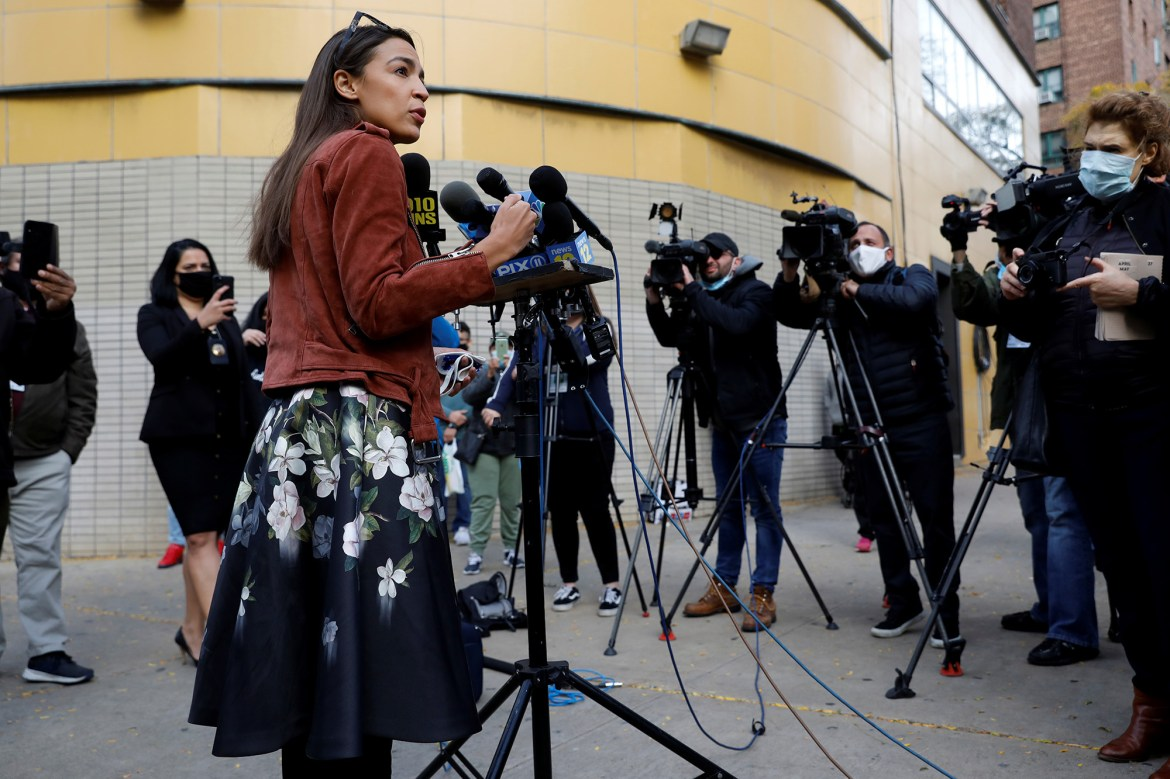 AOC and other progressives have a new goal: Silence the press 1