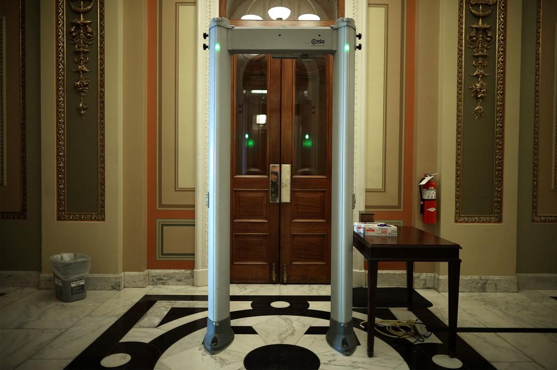 House installs metal detectors to check congressional lawmakers after Capitol riots 1