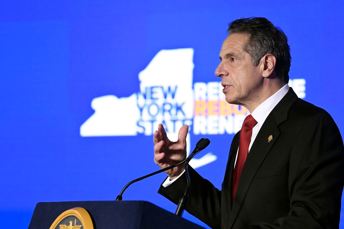 Andrew Cuomo's sad State of the State speech 1