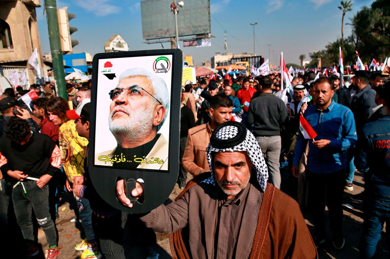 Iraqis protest US on first anniversary of Qassem Soleimani's death 1