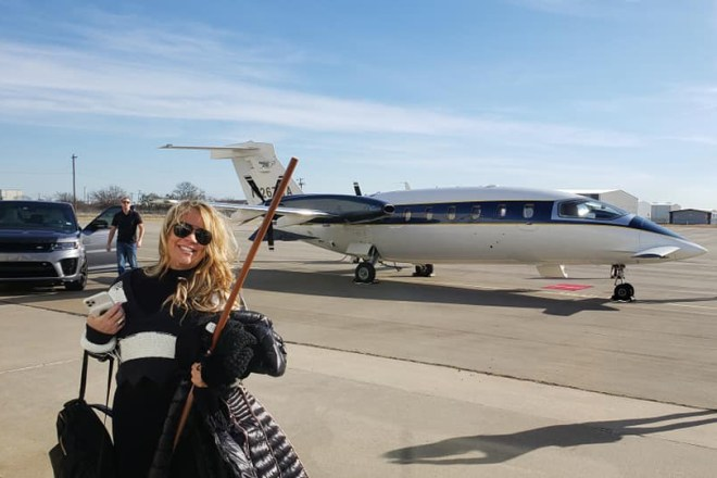 Texas woman flew on private jet to Washington D.C. to 'storm the Capitol'