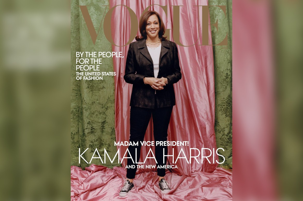 Why Kamala Harris' Vogue cover is trending on social media 1