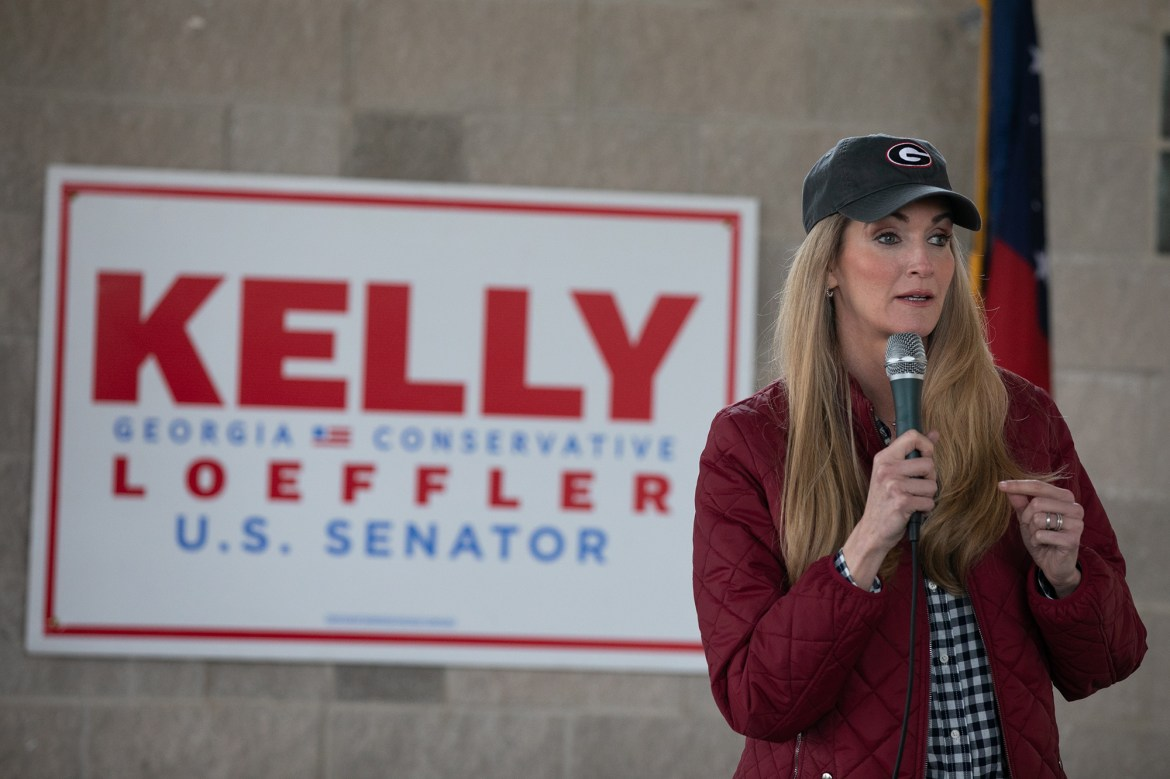 Kelly Loeffler says 'everything's on the table' with Electoral College vote 1