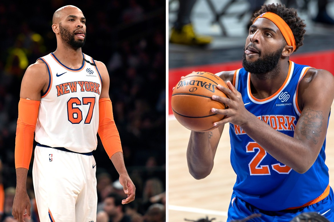 Mitchell Robinson is the most excited about Taj Gibson's Knicks return 1