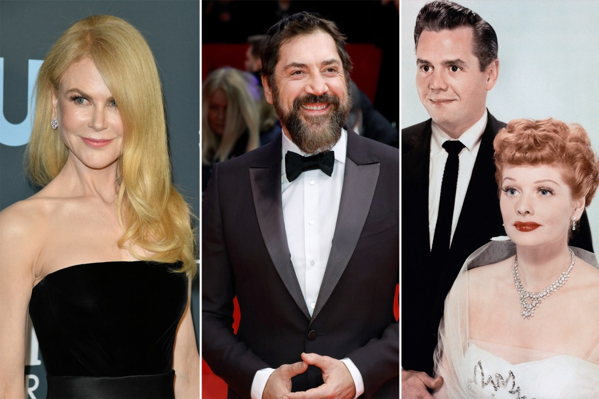 Nicole Kidman and Javier Bardem in talks for Lucille Ball biopic 1