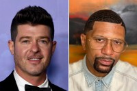 Robin Thicke talks to Jalen Rose about his dream collab