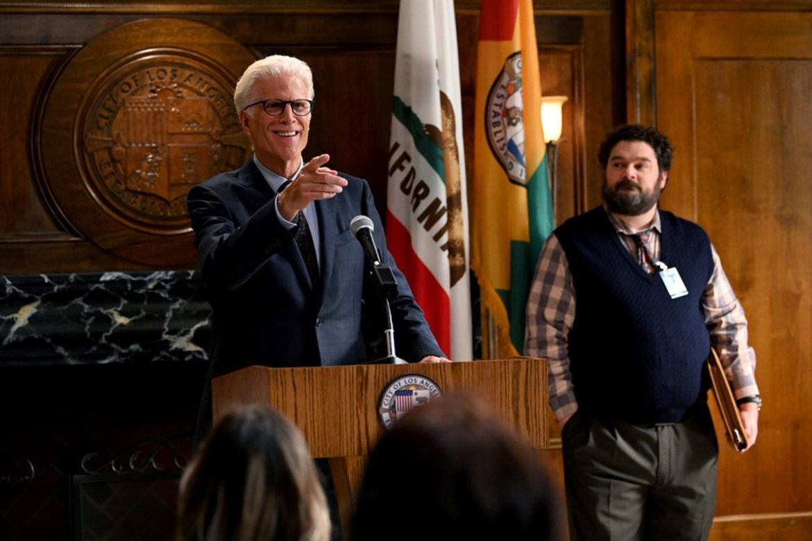 Ted Danson's 'Mr. Mayor' delivers the laughs 1