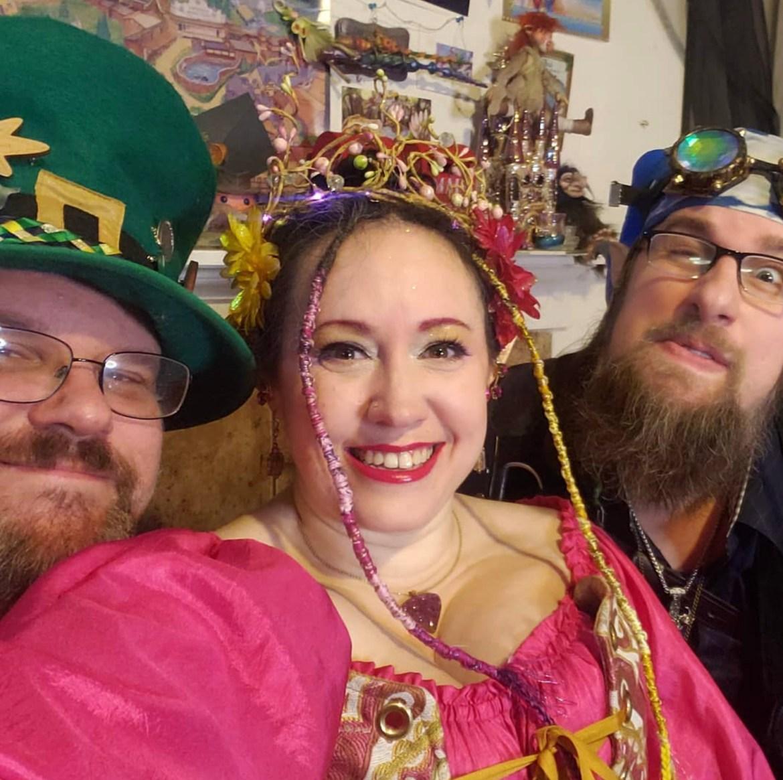 Sexy throuple identifies as a fairy, a troll and a leprechaun 1
