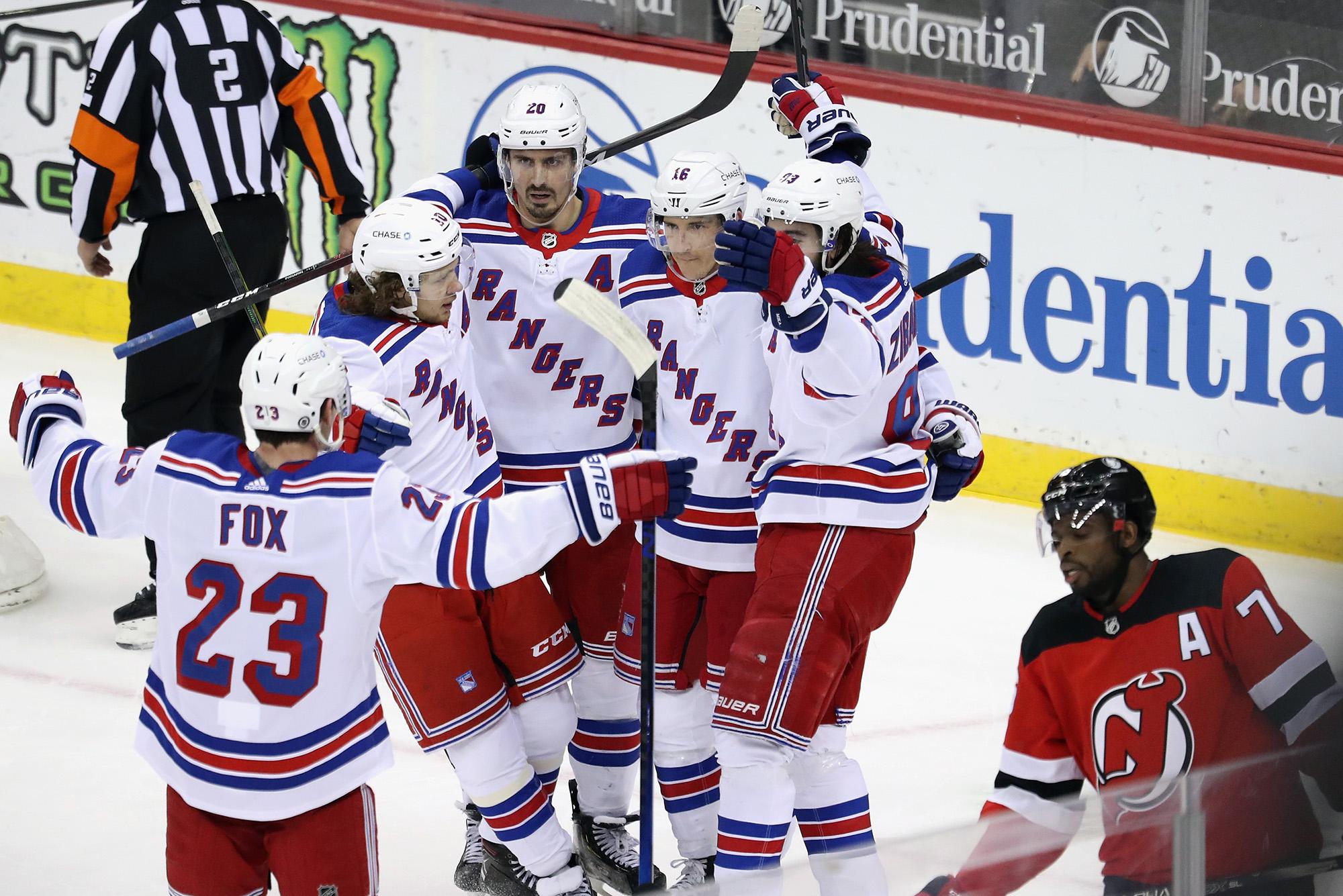 44 inches wide New York Rangers 12 yard cut