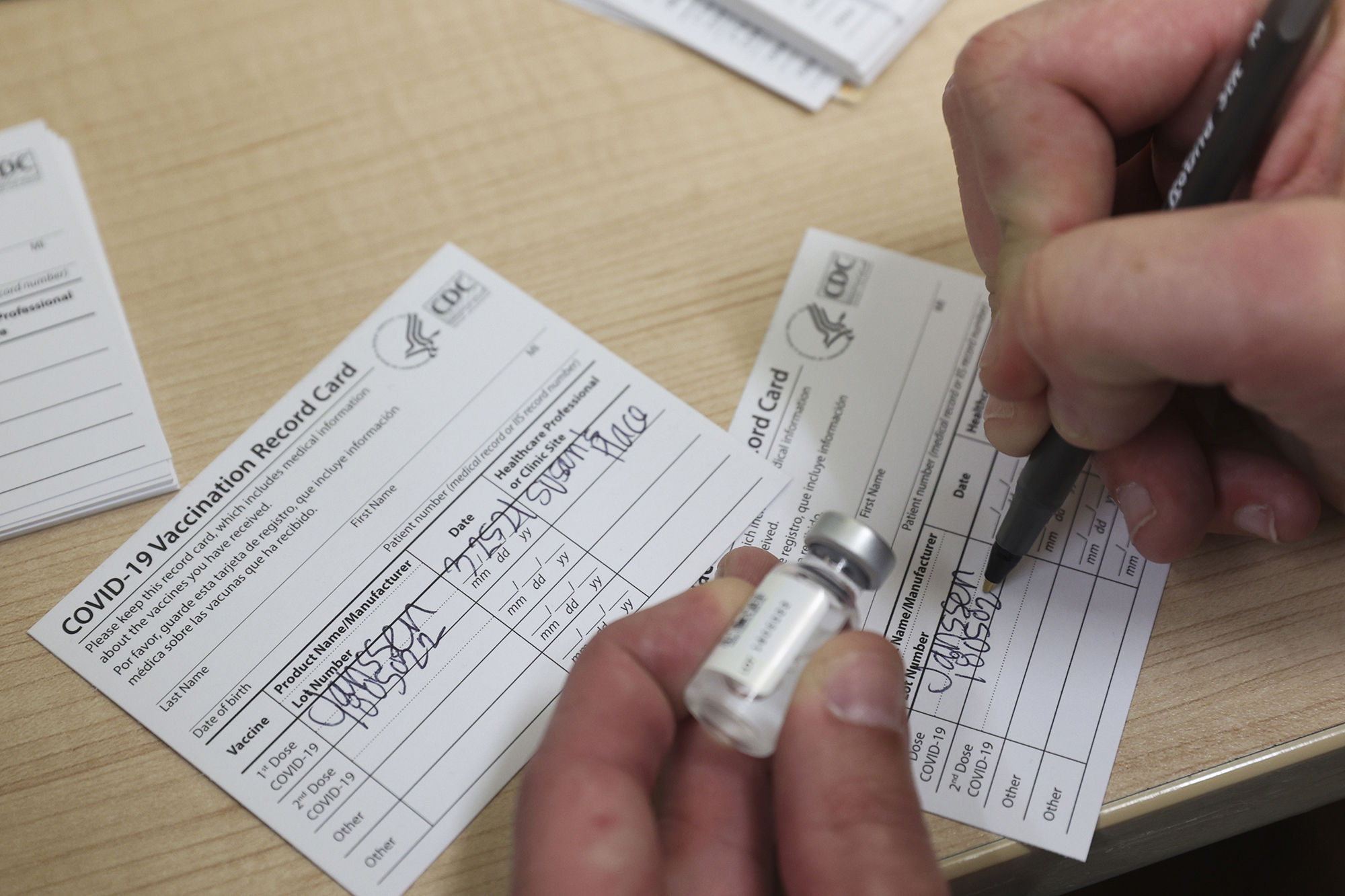 Fake COVID vaccination cards are spreading like a virus online