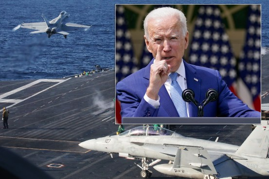 The US is considering sending warships to the Black Sea