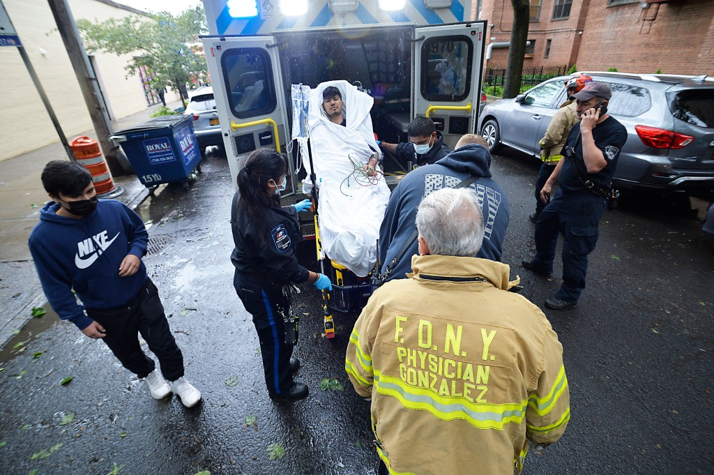 NYC man injured when his arm gets caught in meat grinder