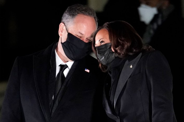 Vice President Kamala Harris and her husband Doug Emhoff have both received their second jab of the COVID-19 vaccine.