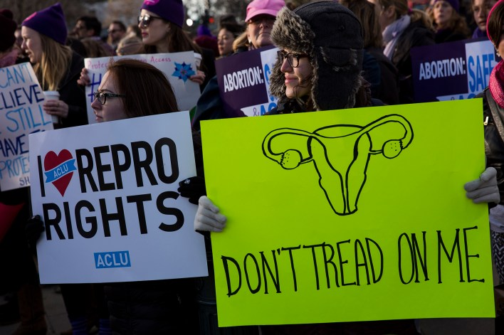 The ordinance bans abortion in all cases except when a woman's life is in danger.