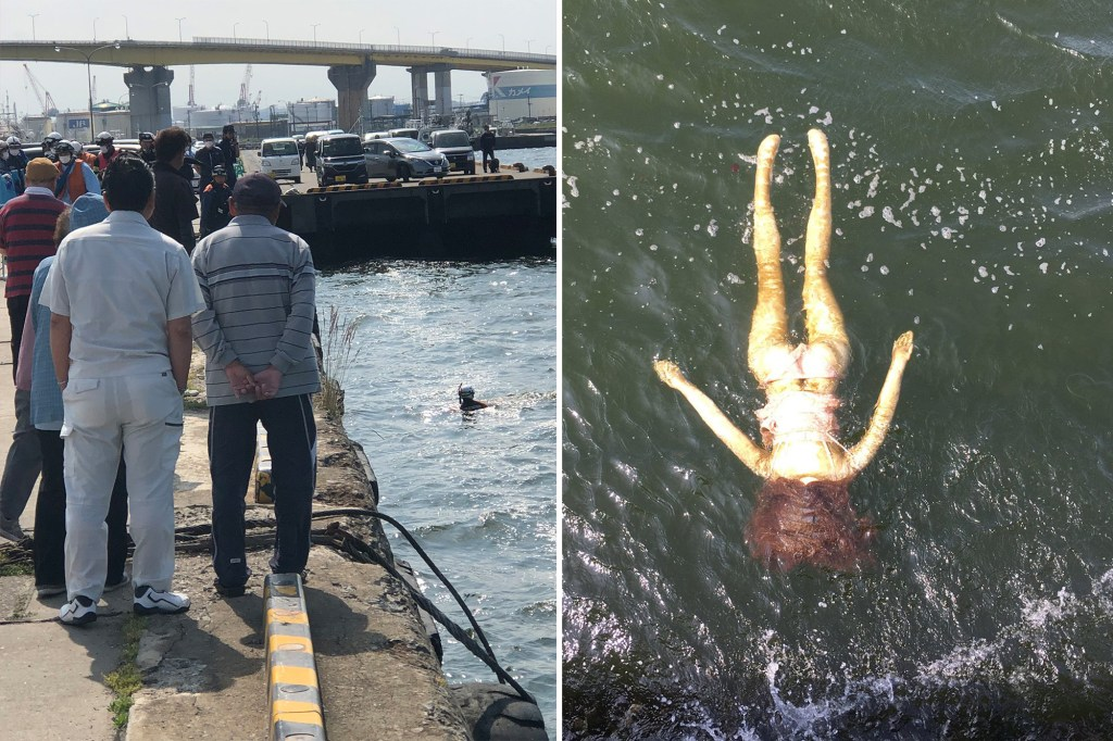 Emergency crew rescues sex doll after mistaking it for drowning woman