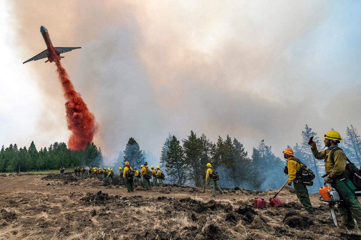 APTOPIX Western forest fires