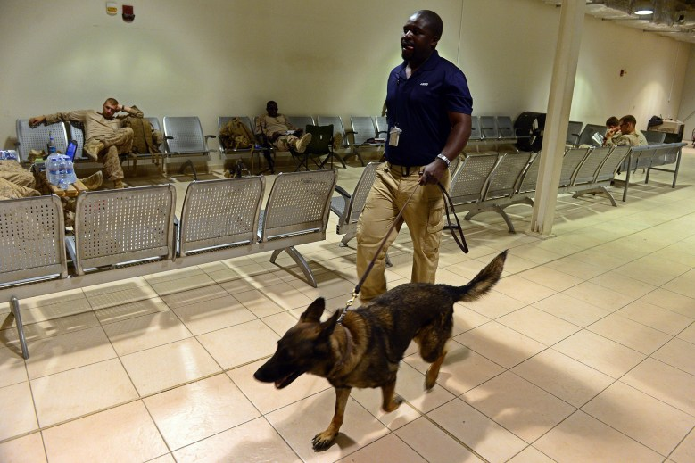 American Humane President Robert Ganzert has said that the humane society has worked with the government before to retrieve animals left behind.