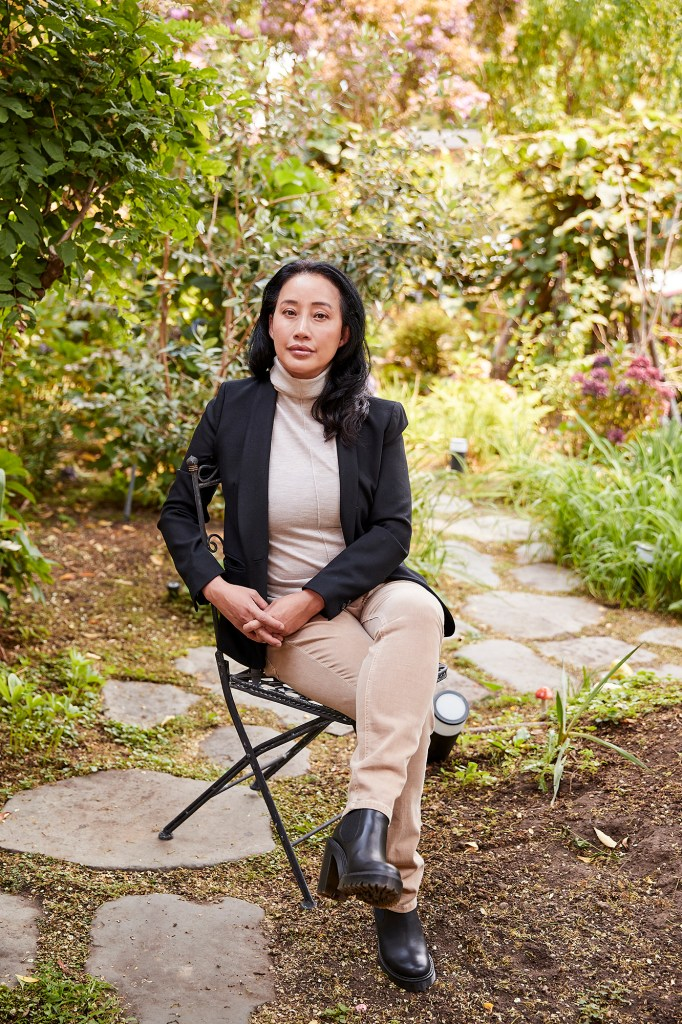 Allison Hyuuh photographed in San Francisco on August 19, 2021