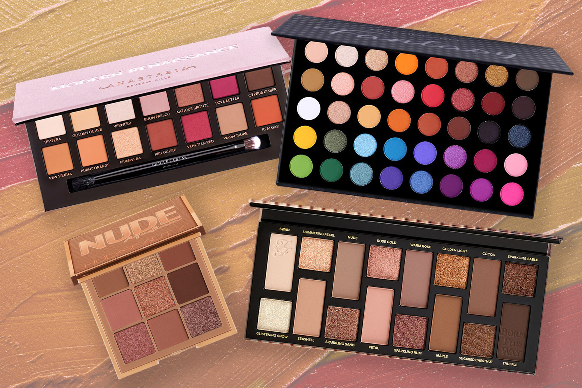 The 30 best eyeshadow palettes we tested to brighten up 2021