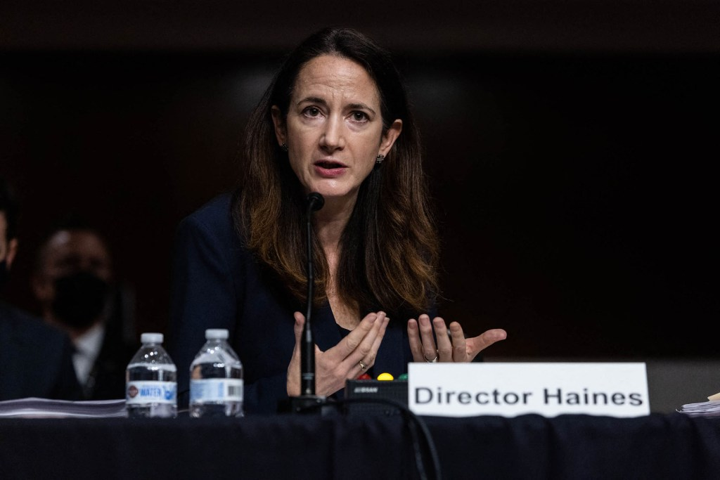 US Director of National Intelligence Avril Haines.