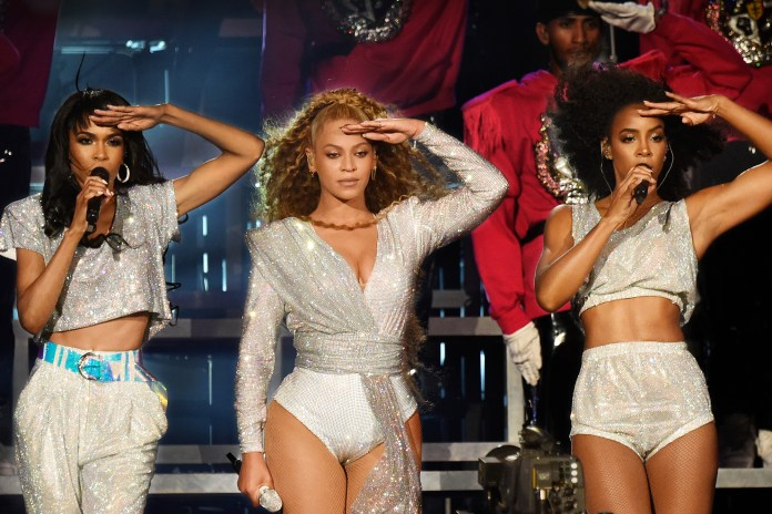 Michelle Williams, Beyonce Knowles and Kelly Rowland