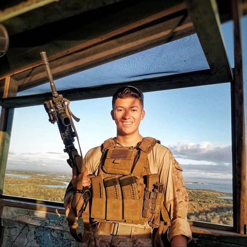 Hunter Lopez was one of the Marines killed in the Kabul blast.