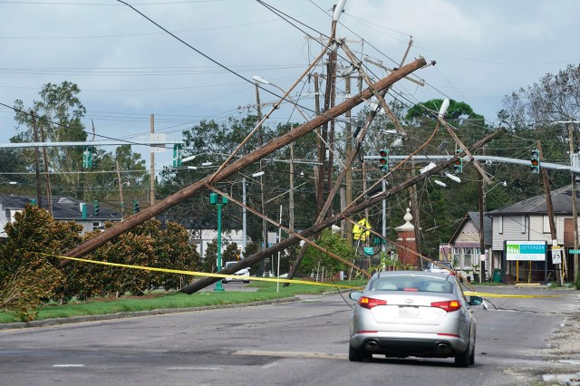 According to reports, All of New Orleans lost power right around sunset Sunday as powerful gusts of wind tore through the region. 39 medical facilities also lost power.