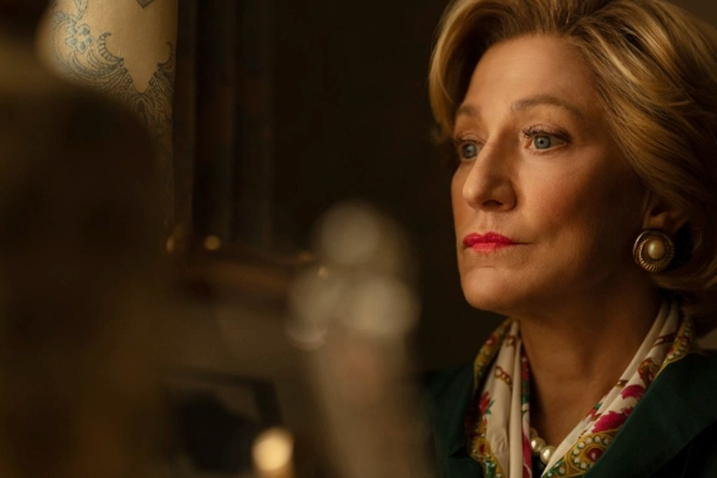 Edie Falco stars as former First Lady Hillary Clinton in the upcoming FX drama.