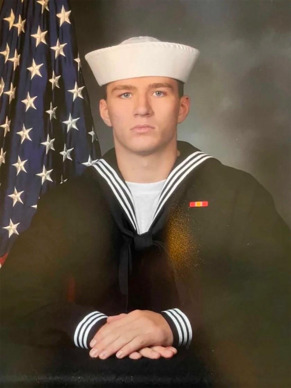 US Navy corpsman Max Soviak