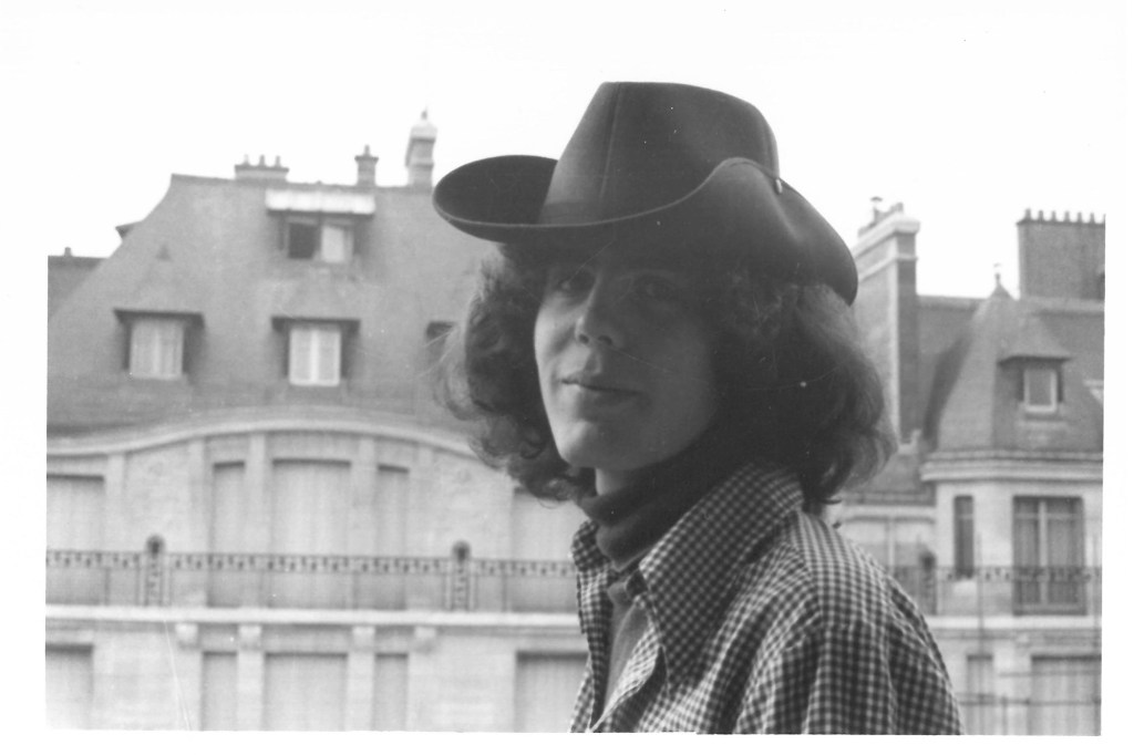 Anthony Bourdain photographed as a teenager in Paris in 1973.