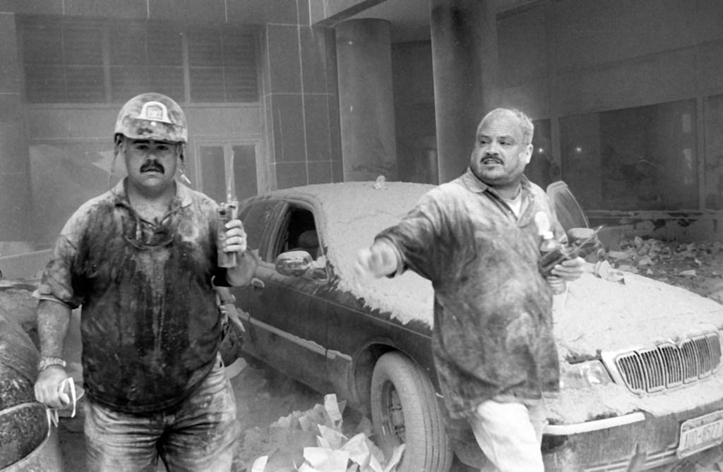 September 11,2001. NYPD TARU Officers