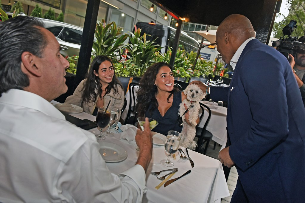 The Democratic Mayoral candidate noted how important restaurants are to NYC's return.