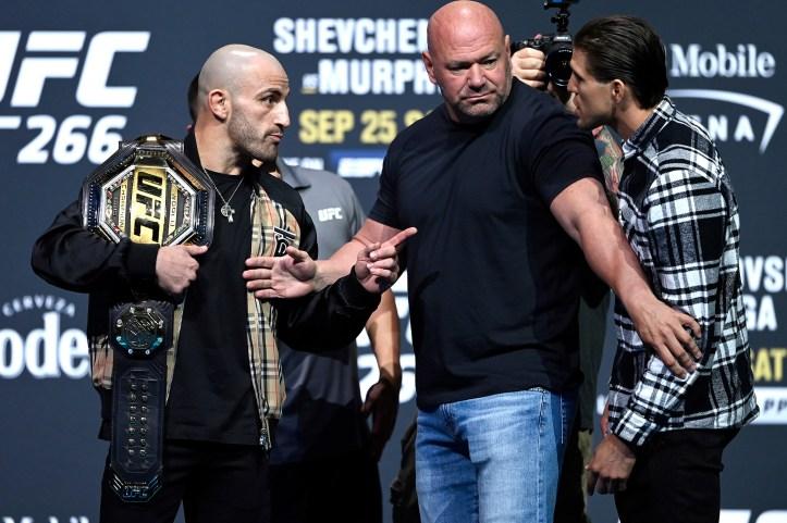 Slap head Volkanovski is a mythical fighter, mark my words | UFC 266