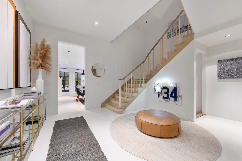 An interior of 34 East 64th St.