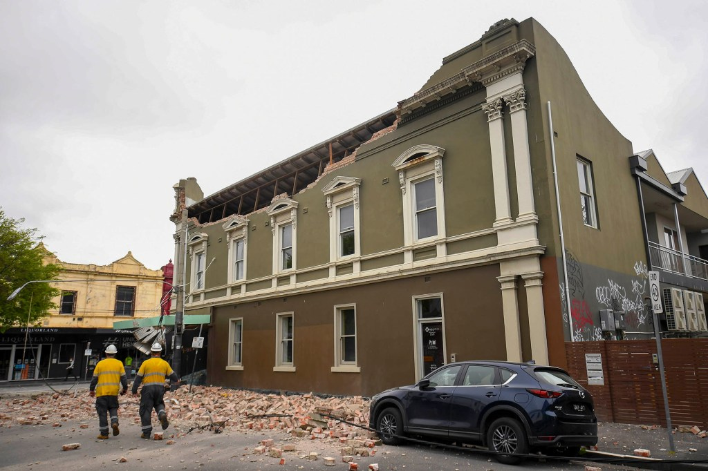 The event was the largest onshore earthquake recorded in Victoria, according to scientists.