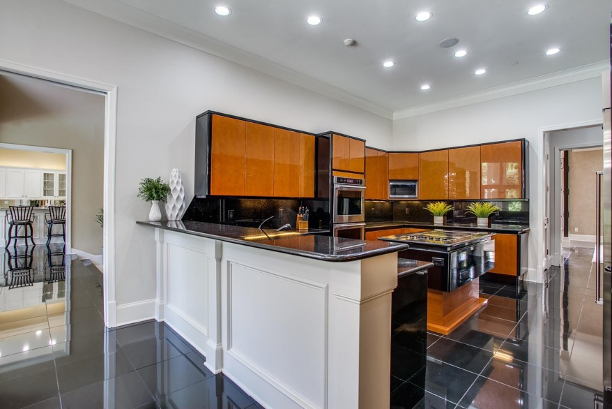 The main kitchen is pictured.