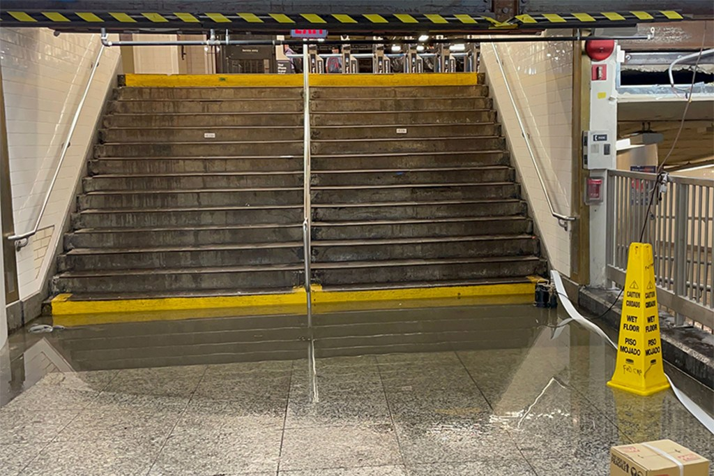 Rides reportedly skyrocketed when the MTA announced that the 7 train was the only line that had not been affected by floods.