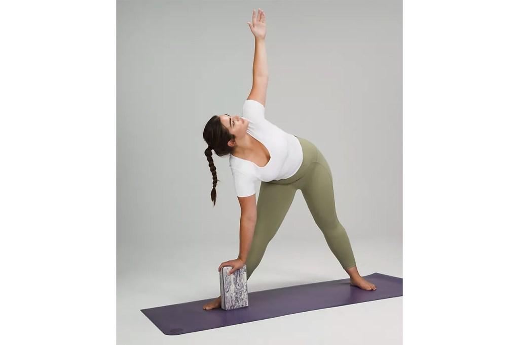 lululemon Lift and Lengthen Yoga Block