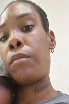 Julissia Battie's mom Navasia Jones, photo confirmed by Julissia's dad.