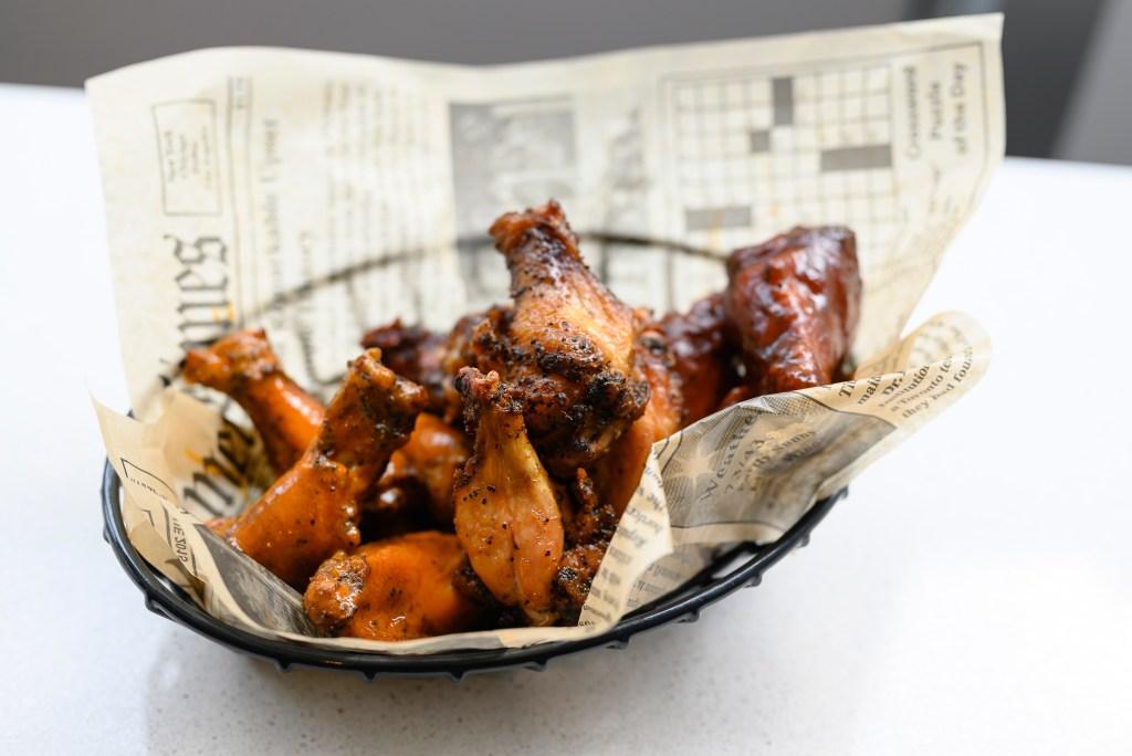 Morgan's Brooklyn Barbecue and its succulent smoked wings can be had at Nimbus.