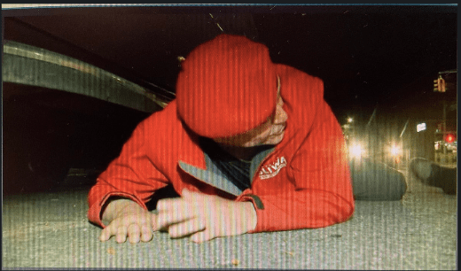 Curtis Sliwa ducked for cover while shots rang out in Manhattan.