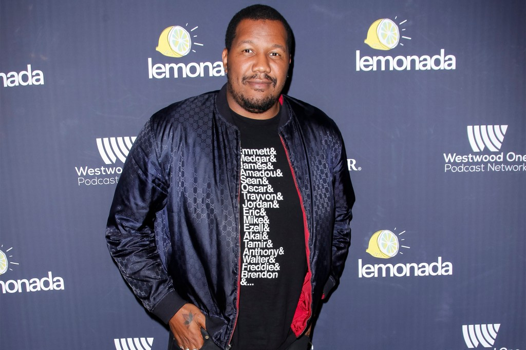 Travon Free attends the Lemonada Media launch party at Largo At The Coronet in 2019.