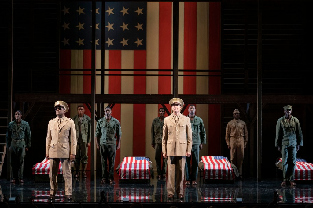 """""""A Soldier's Play"""" starred David Alan Grier and Blair Underwood on Broadway."""