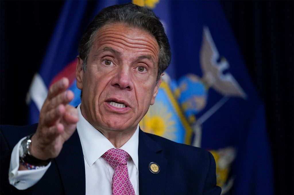 James' probe found that former Gov. Cuomo sexually harassed several women.
