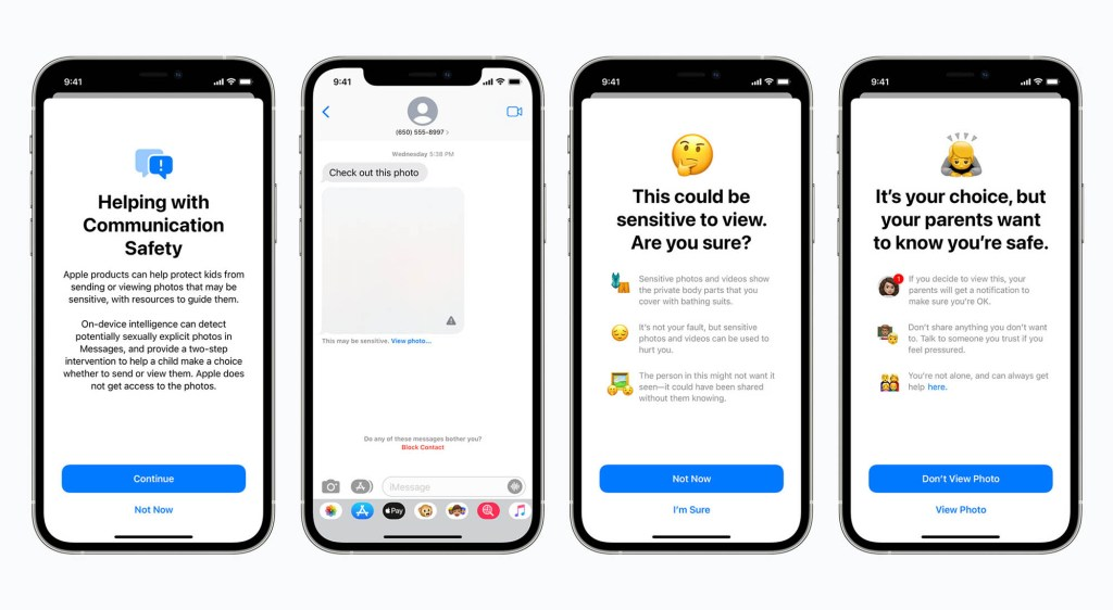 Apple has said that the tool will only flag images that are already in a database of known child pornography.