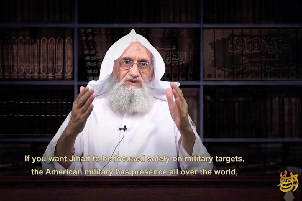 In the video, Zawahiri called for Muslims to attack US, Israel and Western interests.