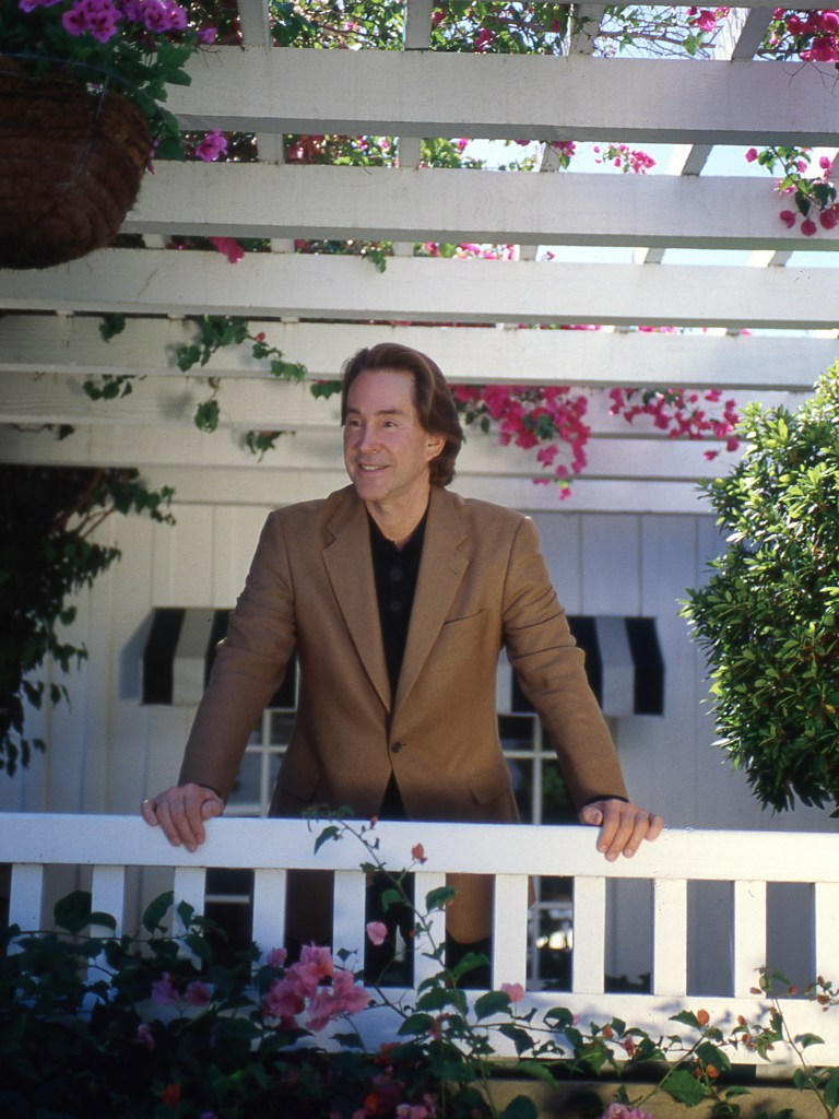 Billionaire Ty warner, creator of the Beanie Baby toys, and hotel owner, at the san ysidro ranch, one of his properties in Montecito, circa 2005.